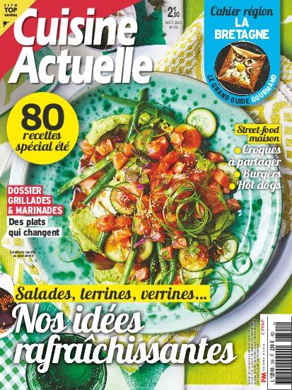 Abonnement magazine cuisine actuelle pas cher prismashop for Cuisine actuelle