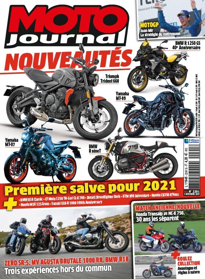 abonnement magazine moto journal pas cher prismashop. Black Bedroom Furniture Sets. Home Design Ideas