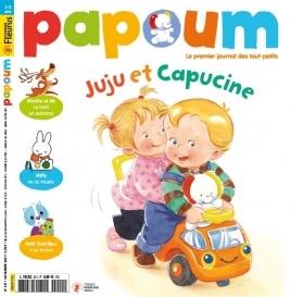 papoum abonnement magazine enfant pas cher prismashop. Black Bedroom Furniture Sets. Home Design Ideas