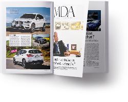 doublepage L'Automobile Magazine