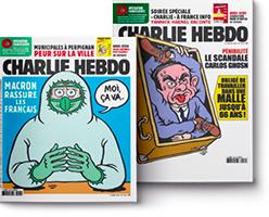 doublepage Charlie hebdo