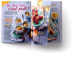 double page cuisine actuelle