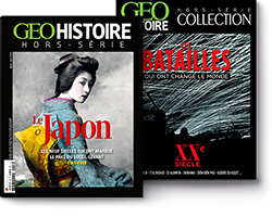 couverture GEO Histoire
