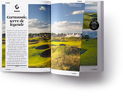 doublepage Golf Magazine