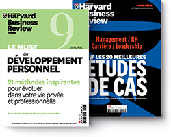 couverture Harvard Business Review