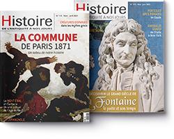 couverture Histoire de l'Antiquité à nos jours
