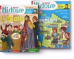 couverture Histoire Junior
