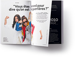 doublepage Les Inrockuptibles
