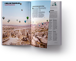 doublepage National Geographic Traveler