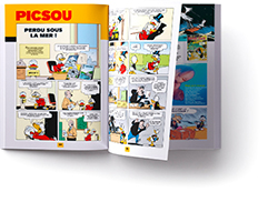 doublepage Picsou Magazine