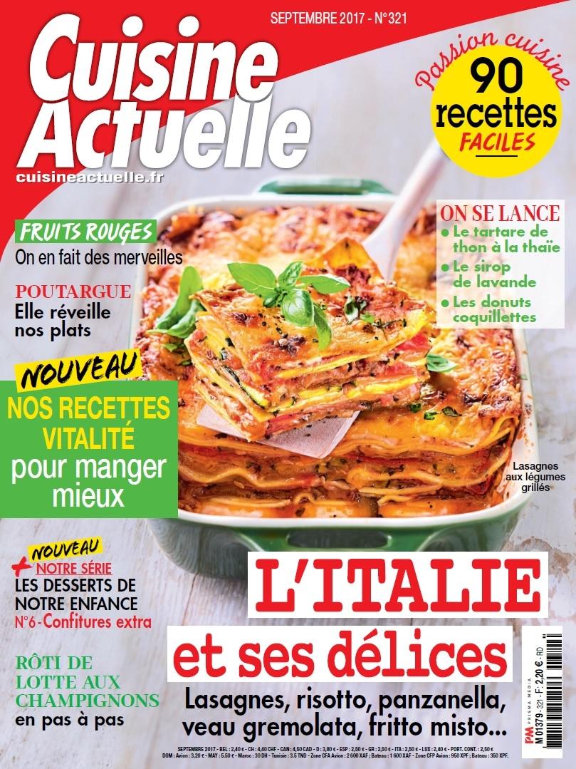 Abonnement magazine cuisine latest abonnement cuisine for Maxi cuisine abonnement