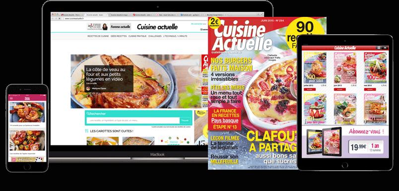 Edito cuisine actuelle prismashop - Abonnement cuisine actuelle ...